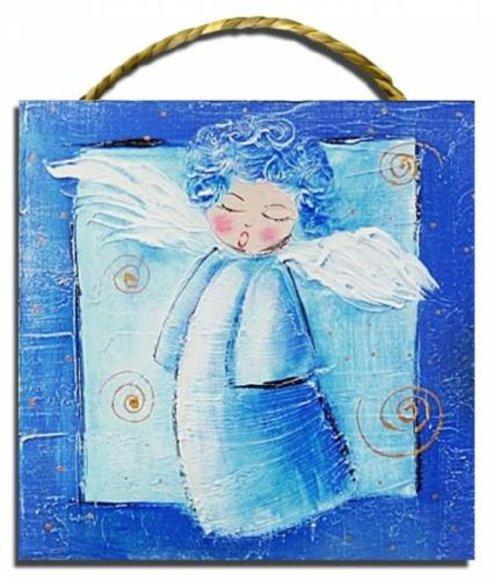 Bild Gemälde Bild Kinder Engel G02127