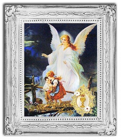 Gemälde Engel Handarbeit Ölbild Bild Ölbilder Rahmen Bilder G17162