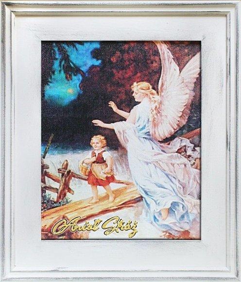 Gemälde Engel Handarbeit Ölbild Bild Ölbilder Rahmen Bilder G17232