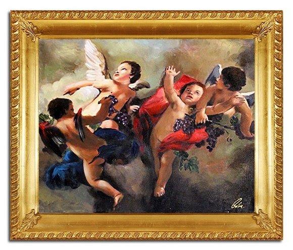 Ölbild Echte Handarbeit Bild Bilder Gemälde mit Rahmen Direkt vom Künstler 96669