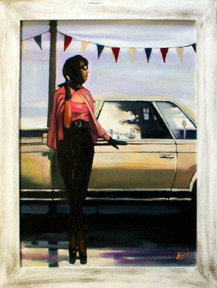 Moderne Kunst Ölbild Bild Bilder Ölbilder Handarbeit Ölgemälde Mit Rahmen G15926