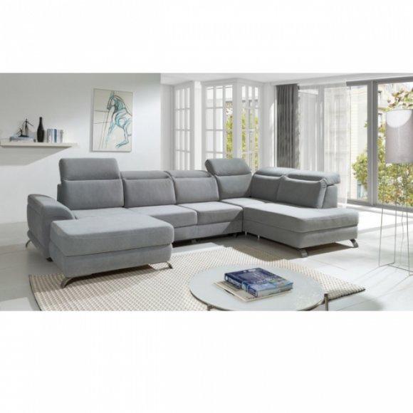 Moderne Wohnlandschaft Couch Polster Sitz Eck Garnitur ...