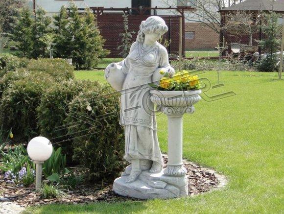 Kübel Skulptur Design Figur Statue Garten Figuren Statuen Skulpturen S101077