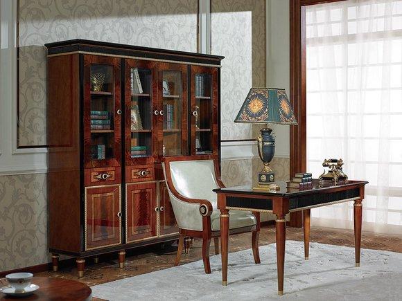 Schreibtisch Büro Tisch Klassischer Designer Office Tische Barock Rokoko E68 Neu