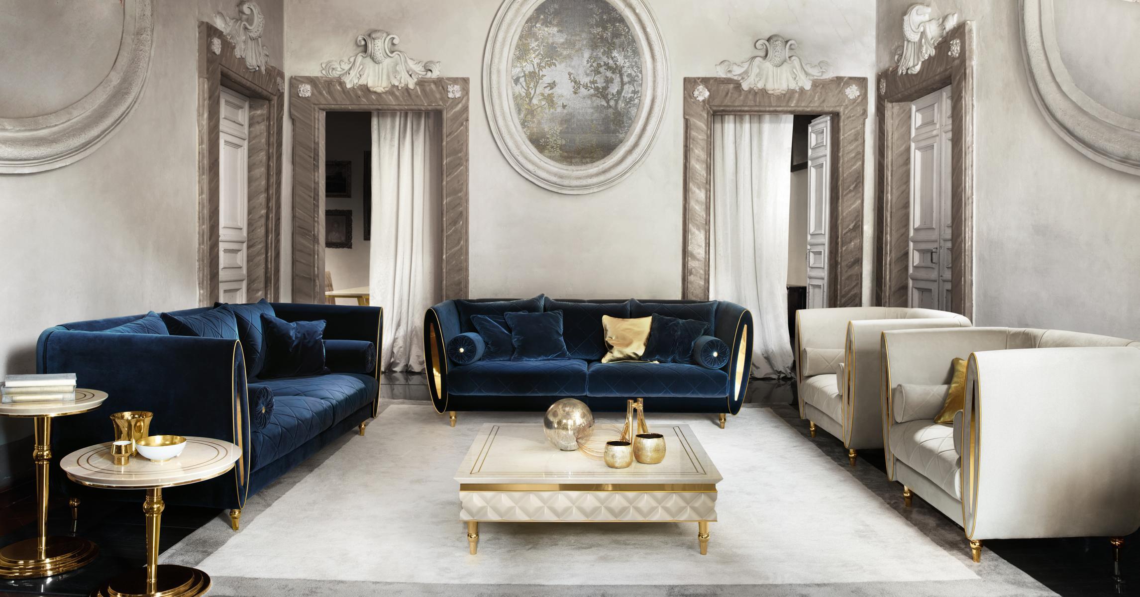 Sofagarnitur Sofa Couch 3 3 Wohnzimmer Designer Mobel Classisch