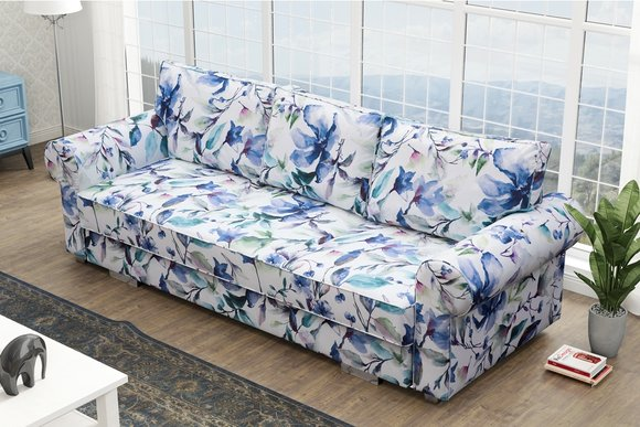 Klassisches Designer Sofa 3-Sitzer Bettfunktion Top ...