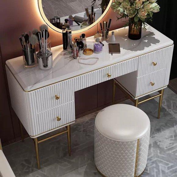 Tisch Klassische Konsole Spiegel Kommode Schminktisch Schlafzimmer Hocker Set Www Jvmoebel At La Design Mobel Ledersofa Sofa