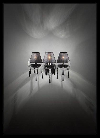 Wandleuchte Bohemia Wandlampe Klassische Wandkronleuchter Doppel Wand Lampe Neu